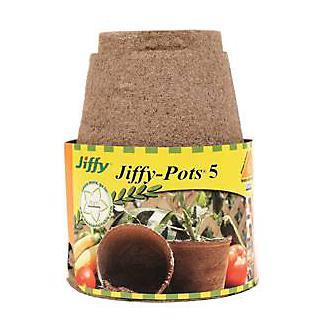 Jiffy Peat Pot 5 inch 6 Pack