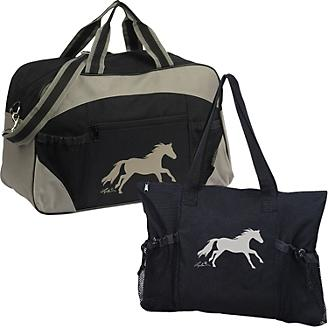 Galloping Horse Tote and Duffle Set