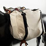 Basic Cotton Canvas Saddle Bags