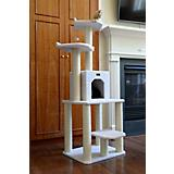 Armarkat Classic Cat Tree 57in Ivory