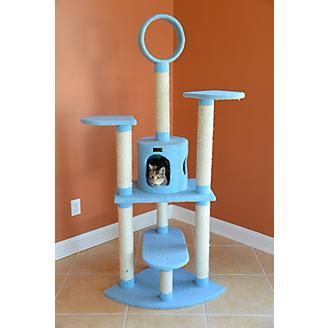 Armarkat Classic Cat Tree Model 66in Blue