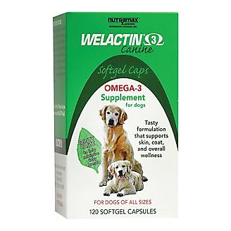 Welactin Canine Softgels with Omega 3 - 120 ct