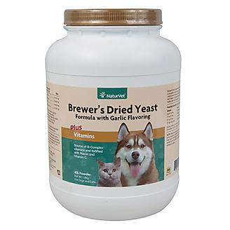 Naturvet Brewers Yeast & Garlic Powder - 4lbs