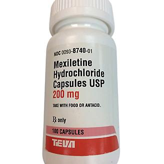 Mexiletine Capsule 200mg 100 Count