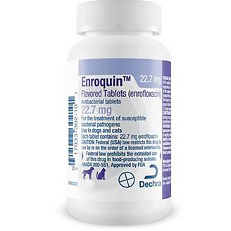 Enrofloxacin Tablets 22.7 mg