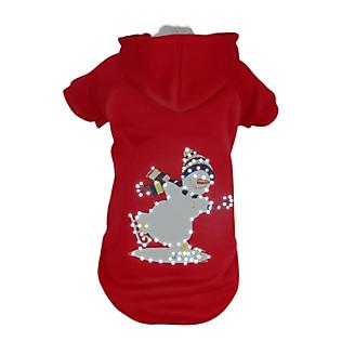 Pet Life LED Holiday Snowman Sweater Costume