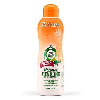 Tropiclean Natural Flea and Tick Max Shampoo