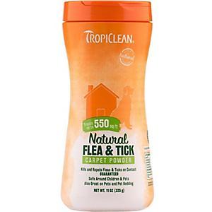 Tropiclean Natural Flea And Tick Carpet Powder Dog Com