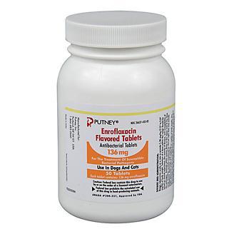 Enrofloxacin Flavored 136mg