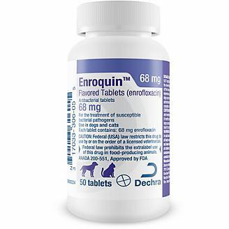 Enrofloxacin Tablets 68 mg