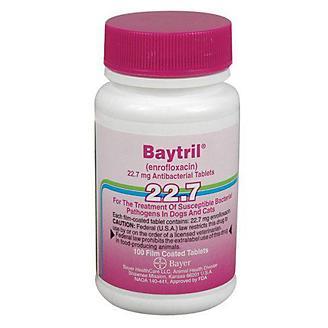 Baytril Purple Tablets 22.7 mg