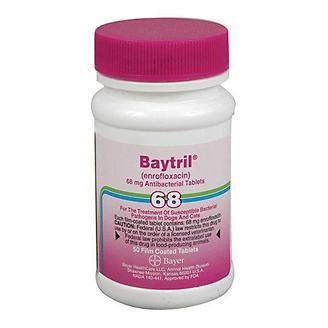 Baytril Purple Tablets 68mg