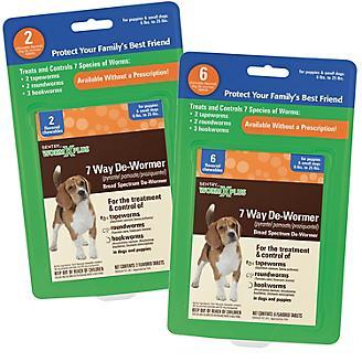 Worm X Plus 7-Way Dewormer Small Dog