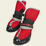 Neo Paws Breathable Indoor Boots Red Large+ 2Ct