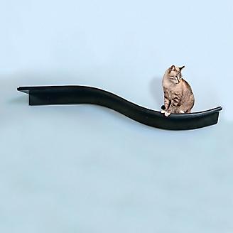 Refined Feline Lotus Branch Cat Shelf