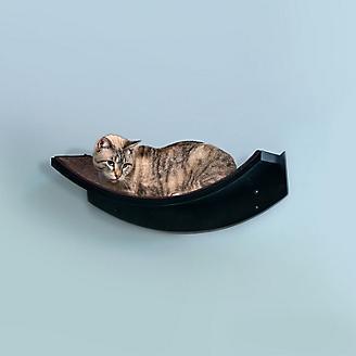 Refined Feline Lotus Leaf Cat Shelf