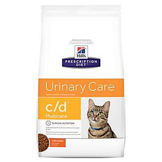Hills Prescription Diet c/d Dry Cat Food