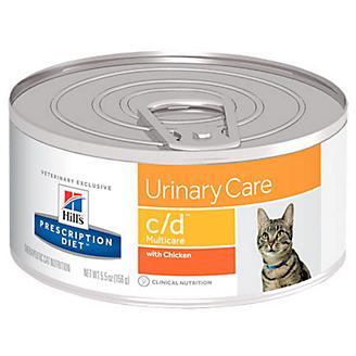 Hills Prescription Diet c/d Can Cat Food 5.5oz