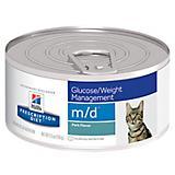 Hills Prescription Diet m/d Canned Cat Food Case