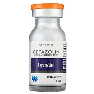 Cefazolin Sodium Injectable 1gm 10ml