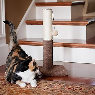 Iconic Pet Kitty Scratch Sisal Cat Post/Toy