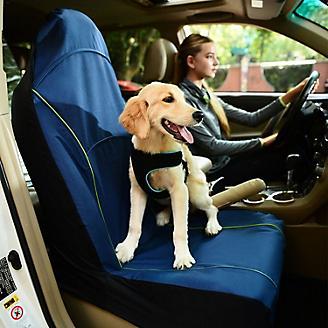 Iconic Pet FurryGo Navy Pet Single Car Seat Cover