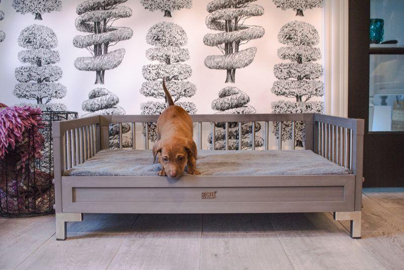 New Age Pet ecoFlex Manhattan Gray Dog Bed XLarge