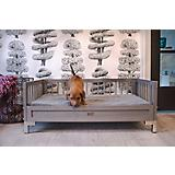 New Age Pet ecoFlex Manhattan Gray Dog Bed