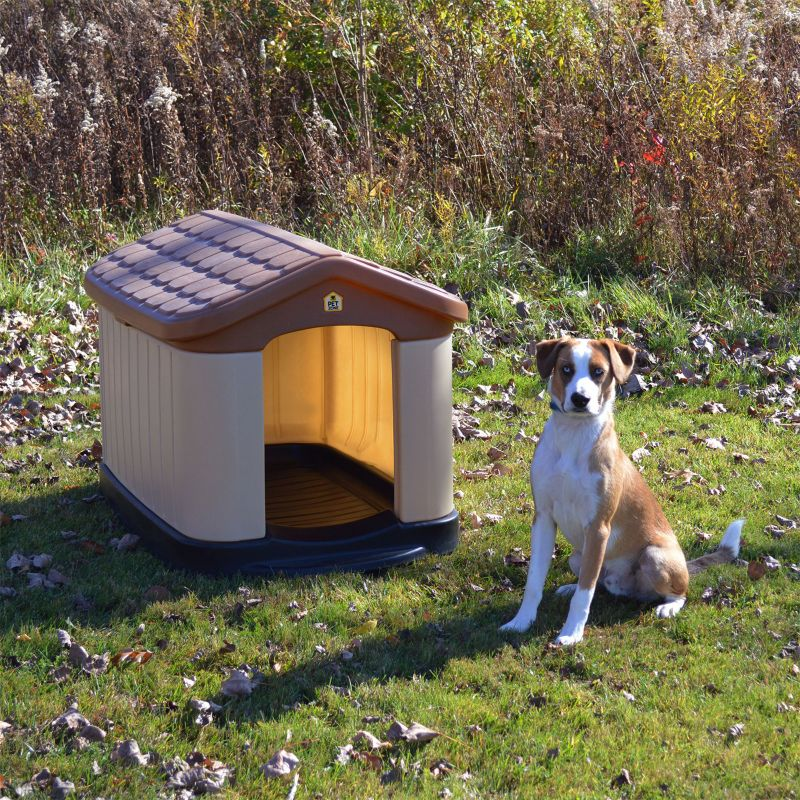 Nice Tuff N Rugged Dog House 42.5L X 30W X 31H   Dog.com