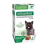 Advantus Oral Flea Treatment Dogs 4-22lbs