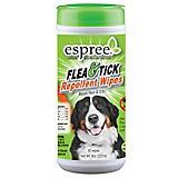 Espree Flea and Tick Dog Grooming Wipes 50ct