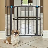 Midwest GLOW Graphite Steel Pet Gate
