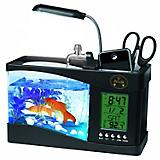 Pet Life All in One Digital Desktop Aquarium Black