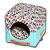 Touchdog Chirpin Avery 2in1 Dog House Bed