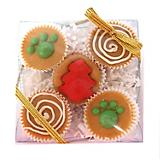 Claudias Holiday Peanut Butter Cup Dog Treat 5ct
