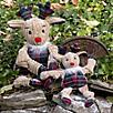 Hugglehounds Holiday Knottie Rudy Dog Toy