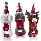 Charming Pet Christmas Peek A Boo Dog Toy