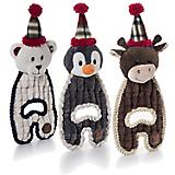 Charming Pet Christmas Cuddle Hug Dog Toy