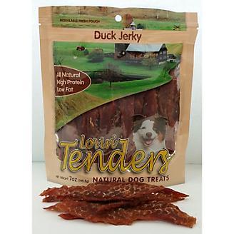 Lovin Tenders Duck Jerky Dog Treat