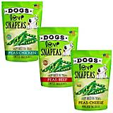 Dogs Love Snapeas Baked Peas Dog Treat