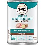 Nutro LID Fish/Potato Recipe Can Dog Food 12pk