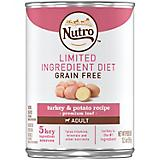 Nutro LID Turkey/Potato Recipe Can Dog Food 12pk