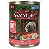 My Little Wolf 96 Turkey Salmon Can Dog Food 12pk