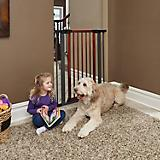 Midwest Steel Pet Gate with Wood Door