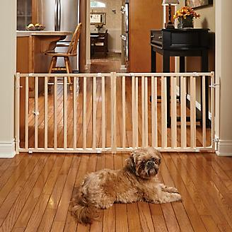Midwest Extra-Wide Wood Pet Gate 24in Tall