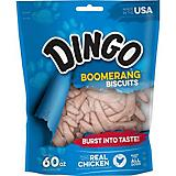 Dingo Boomerang Biscuit Chicken Dog Treat