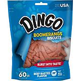 Dingo Boomerang Biscuit Beef Dog Treat