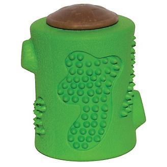 Starmark RubberTuff Treat Stump Dog Toy