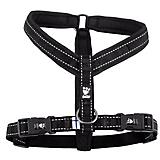 Hurtta Casual Padded Dog Y Harness 14in Raven