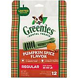 GREENIES Pumpkin Spice Regular Dog Chews 12oz